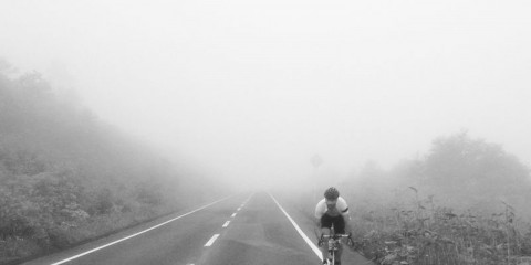 Promise: Not staged at all (I was too broken), but this is the new Rapha website cover...