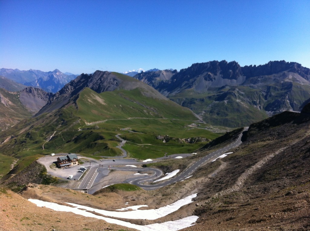 Galibier summit